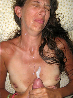 pictures be fitting of hot elderly lady cumshot