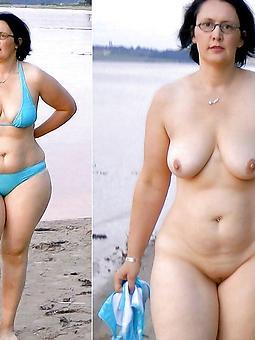 amature mature women dressed & undressed