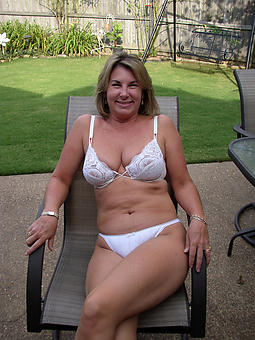 mature ladies in skivvies tease