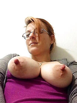 cougar ladies with big nipples unadorned pics