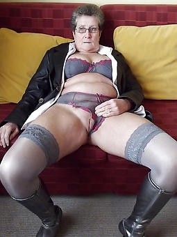 sweet old ladies in panties