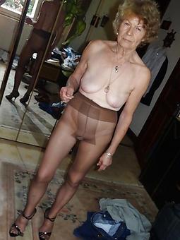 sweet sexy elderly ladies in pantyhose