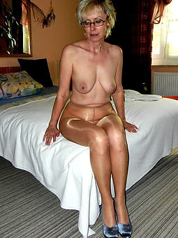 older ladies in pantyhose