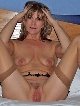 classy landed gentry in stockings porn flick