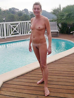 laconic titted mature and pussy lips