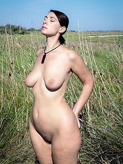 curvy ladies nude sexy porn pics