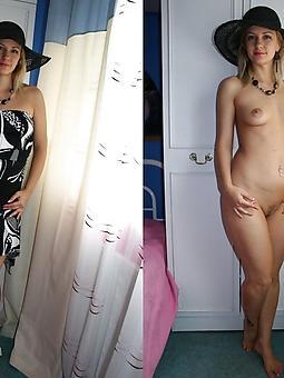 pretty mom dressed undressed nude pics