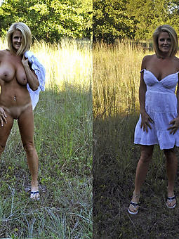 naked moms outdoors pics