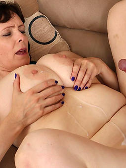 porn pictures of beautiful old lady cumshot