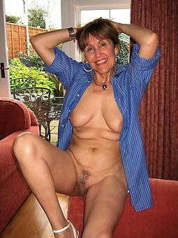 senior moms nude stripping