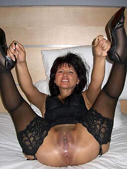 naked old ladie pussy stripping