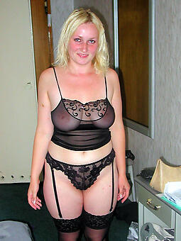 perfect grown up lady in lingerie