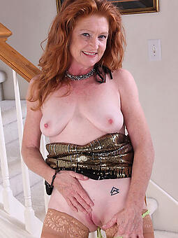 verifiable grown-up lady redheads naked
