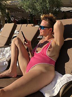 old strata in bikinis off colour porn pics
