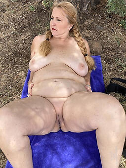 cougar chubby old lady