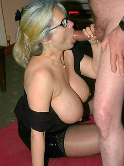 Naked mature lady