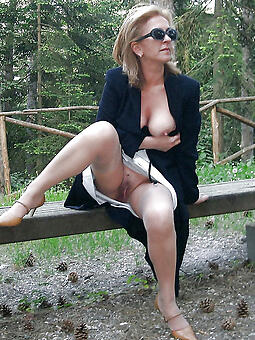 cougar mature with glasses