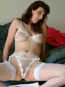 cougar mature lingerie porn photo