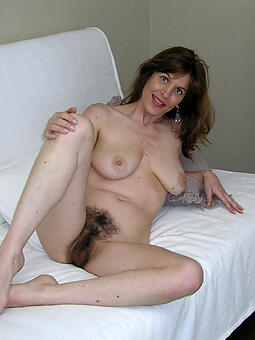 ideal hairy mature pussy photo