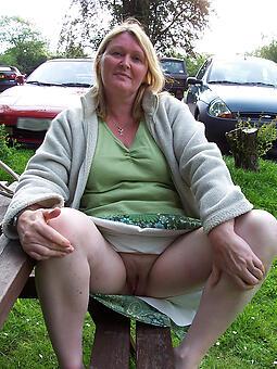 mature woman upskirt seduction