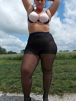 unadulterated pantyhose moms