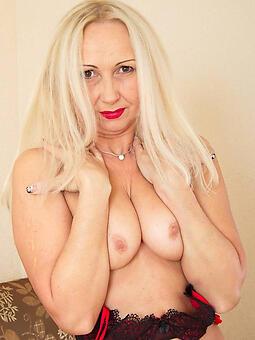pretty blonde mature porn
