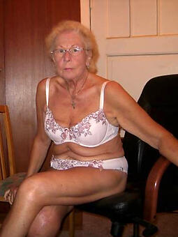 naked grandmother stripping